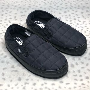 New Vans Ultracush Slip-Er In Black Slip On Shoe